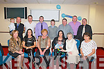 Rebecca McDaid,Listowel(seated 3rd Rt)who Christened her new baby Ryan in St Mary's Church,Listowel by Fr Declan O'Connor and after to a family celebration in the Grand Hotel,Tralee.on Saturday