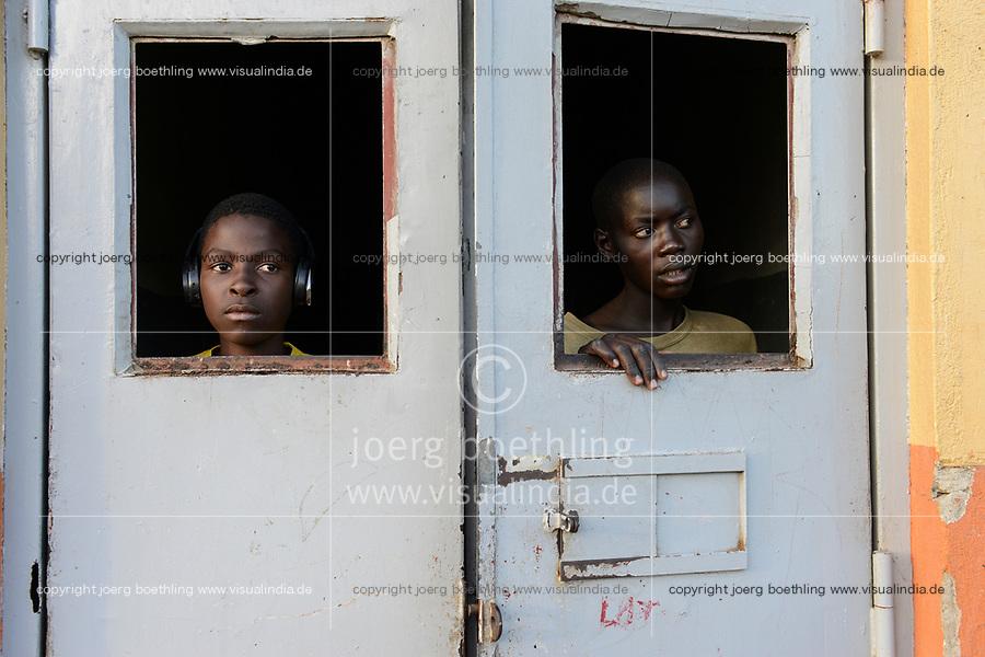 UGANDA, Kampala, Kampiringisa, national rehabilitation center, a juvenile-detention facility for children and young people / Jugendhaftanstalt und Rehabilitationszentrum Kampiringisa