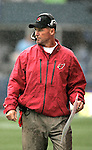 Arizona Cardinals  Head Coach Ken Whisenhunt at CenturyLink Field in Seattle, Washington September 25, 2011.  The Seahawks beat the Cardinals 13-10.  ©2011 Jim Bryant Photo. All Rights Reserved.