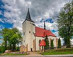 Stary Wiśnicz 11-05-2019. Kościół parafialny pod wezwaniem św. Wojciecha w Starym Wiśniczu