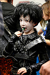 Preston Aleman, 7, competes in a costume contest during the Boo-nanza event at the Carson City Library, in Carson City, Nev., on Tuesday, Oct. 30, 2018. <br /> Photo by Cathleen Allison/Nevada Momentum