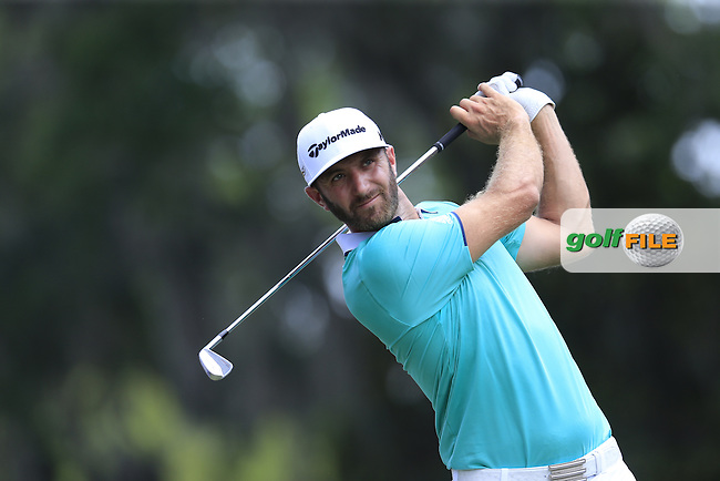 Dustin Johnson (USA) during round 2 of the Players, TPC Sawgrass, Championship Way, Ponte Vedra Beach, FL 32082, USA. 13/05/2016.<br /> Picture: Golffile | Fran Caffrey<br /> <br /> <br /> All photo usage must carry mandatory copyright credit (&copy; Golffile | Fran Caffrey)
