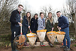 Welsh Water<br /> Students visit to Cilfynydd<br /> L-R: Jonathan Shivers, Sara Williams, Welsh Water teacher Mary Watkins, Bethany Southall, Paula Watts &amp; James Ward.<br /> 27.03.15<br /> &copy;Steve Pope - FOTOWALES