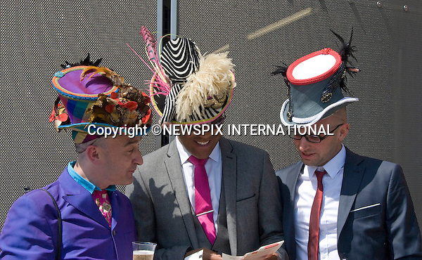 "HAT FASHION, ROYAL ASCOT.on the opening day of Royal Ascot, Ascot, Berkshire 2011_14/06/2011.Mandatory Photo Credit: ©Shaw/Newspix International..**ALL FEES PAYABLE TO: ""NEWSPIX INTERNATIONAL""**..PHOTO CREDIT MANDATORY!!: NEWSPIX INTERNATIONAL(Failure to credit will incur a surcharge of 100% of reproduction fees)..IMMEDIATE CONFIRMATION OF USAGE REQUIRED:.Newspix International, 31 Chinnery Hill, Bishop's Stortford, ENGLAND CM23 3PS.Tel:+441279 324672  ; Fax: +441279656877.Mobile:  0777568 1153.e-mail: info@newspixinternational.co.uk"
