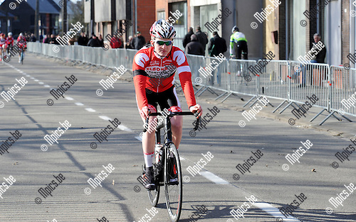 2015-02-28 / Wielrennen / seizoen 2015 / Junioren Rijkevorsel / Dries De Proost<br /><br />Foto: Mpics.be