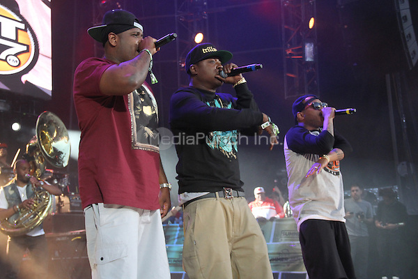 East Rutherford, NJ - June 1, 2014<br /> <br /> The LOX perform at the Hot 97 Summer Jam 2014 concert at Metlife Stadium, June 1, 2014 in East Rutherford, NJ<br /> <br /> <br /> <br />  Walik Goshorn/MediaPunch