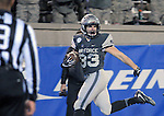 November 12, 2016 - Colorado Springs, Colorado, U.S. -  Air Force running back, Tim McVey #33, scores a touchdown during the NCAA Football game between the Colorado State University Rams and the Air Force Academy Falcons, Falcon Stadium, U.S. Air Force Academy, Colorado Springs, Colorado.  Air Force defeats Colorado State 49-46.