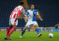 Blackburn Rovers' Peter Whittingham competing with Stoke City U23s' Tre Pemberton <br /> <br /> Photographer Andrew Kearns/CameraSport<br /> <br /> The EFL Checkatrade Trophy - Blackburn Rovers v Stoke City U23s - Tuesday 29th August 2017 - Ewood Park - Blackburn<br />  <br /> World Copyright &copy; 2018 CameraSport. All rights reserved. 43 Linden Ave. Countesthorpe. Leicester. England. LE8 5PG - Tel: +44 (0) 116 277 4147 - admin@camerasport.com - www.camerasport.com