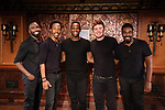 John Edwards, Dwayne Cooper,Jelani Remy, Max Sangerman and Kyle Taylor Parker attends the photo call for the new production of 'Smokey Joe's Cafe' at Feinstein's/54 Below on June 27, 2018 in New York City. attends the photo call for the new production of 'Smokey Joe's Cafe' at Feinstein's/54 Below on June 27, 2018 in New York City.