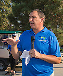 Mike Wurm, Executive Director of Boys and Girls Club speaks at the Microsoft 8th Annual Charity Golf Tournament held at Red Hawk Golf and Resort in Sparks on Friday, August 19, 2016.