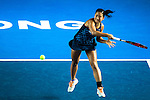 Naomi Broady of United Kingdom and Heather Watson of United Kingdom vs Nao Hibino of Japan and Aleksandrina Naydenova of Bulgaria during their Doubles Semi Finals match at the WTA Prudential Hong Kong Tennis Open 2016 at the Victoria Park Tennis Stadium on 15 October 2016 in Hong Kong, China. Photo by Marcio Machado / Power Sport Images