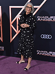 "Elizabeth Cantillon 083 attends the premiere of Columbia Pictures' ""Charlie's Angels"" at Westwood Regency Theater on November 11, 2019 in Los Angeles, California."