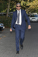 Alfonso de Borbon visits San Isidro funeral home following the death of Miguel Boyer in Madrid, Spain. September 29, 2014. (ALTERPHOTOS/Victor Blanco) /nortephoto.com
