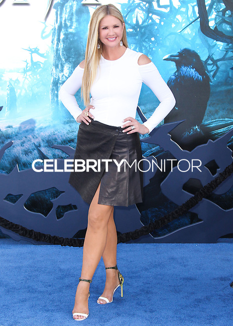 HOLLYWOOD, LOS ANGELES, CA, USA - MAY 28: Nancy O'Dell at the World Premiere Of Disney's 'Maleficent' held at the El Capitan Theatre on May 28, 2014 in Hollywood, Los Angeles, California, United States. (Photo by Xavier Collin/Celebrity Monitor)