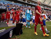 Sandy, UT - Saturday June 3, 2017: The U.S. Men's National team take on Venezuela in an international friendly tune up match leading up to their WCQ Hex games at Rio Tinto Stadium.