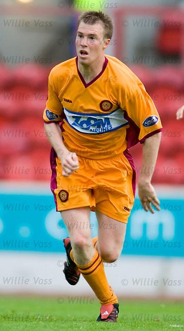 David Clarkson, Motherwell.stock season 2005-2006.pic willie vass