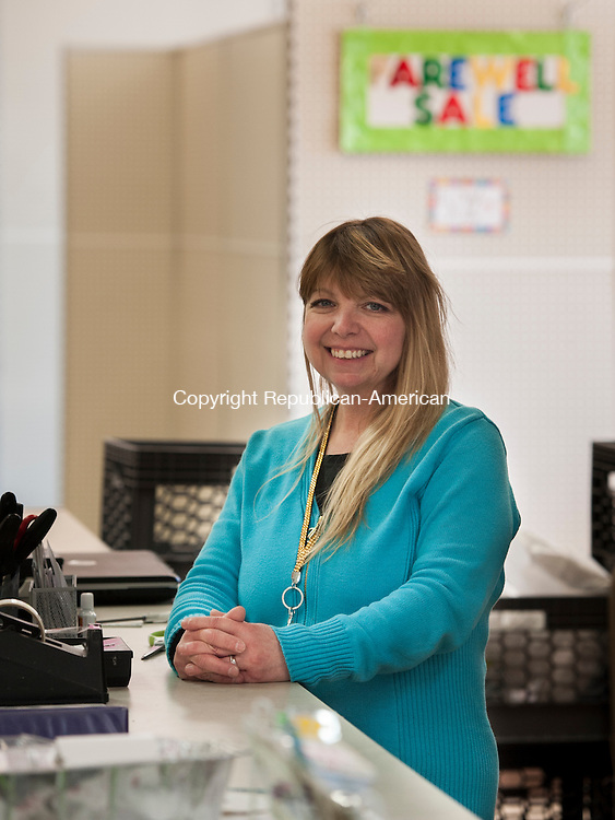 WATERBURY, CT-23 March 2015-032315EC02-   Karen Lebel Krayeski owns Laural Party Shop along Reidville Drive in Waterbury. She started the party supply store with her sister 30 years ago. The business has been at the Reidville Drive location for 24 years. Erin Covey Republican-American