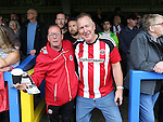 Sheffield United's fans look on during the League One match at the Kingsmeadow Stadium, London. Picture date: September 10th, 2016. Pic David Klein/Sportimage