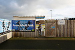 A member of the Penrith staff arrives. Penrith AFC V Hebburn Town, Northern League Division One, 22nd December 2018. Penrith are the only Cumbrian team in the Northern League. All the other teams are based across the Pennines in the north east.<br />