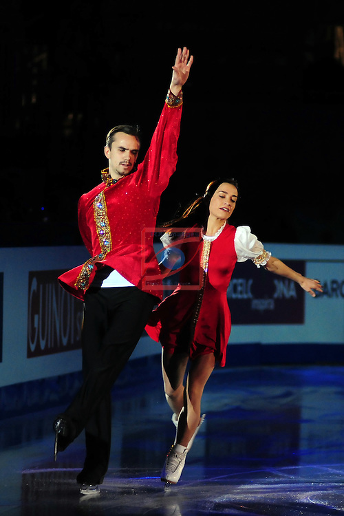 ISU Grand Prix of Figure Skating FINAL Barcelona 2014/2015.<br /> Ksenia Stolbova &amp; Fedor Klimov.