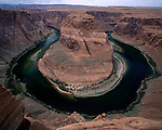 Horseshoe Bend, Colorado River, Arizona.