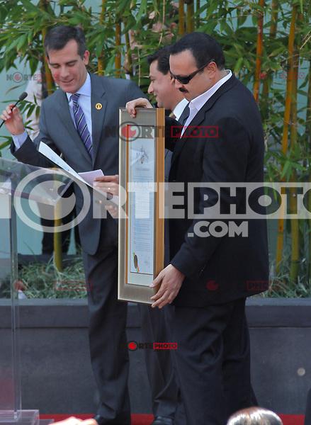 Who: Pepe Aguilar & Family: Mother, Wife & ChildrenWhat: Recieving the Hollywood Walk of Fame Star.Where: Hollywood, CAWhen: July 26, 2012Mandatory Credit: ©The Media Circuit?.sales@themediacircuit.com /NOrtePhoto.com <br /> <br /> **CREDITO*OBLIGATORIO** *No*Venta*A*Terceros*<br /> *No*Sale*So*third* ***No*Se*Permite*Hacer Archivo***No*Sale*So*third*©Imagenes*con derechos*de*autor©todos*reservados*.