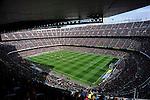 Campeonato de Liga; F.C.Barcelona-Getafe..Camp Nou - Stadium View.