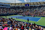 US Open Fan Week: Roger Federer and Novak Djokovic Featured Practices