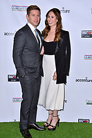 SANTA MONICA, CA. February 21, 2019: Allen Leech & Jessica Blair Herman at the 14th Annual Oscar Wilde Awards.<br /> Picture: Paul Smith/Featureflash