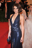 Lea Michele at the 'Schiaparelli And Prada: Impossible Conversations' Costume Institute Gala at the Metropolitan Museum of Art on May 7, 2012 in New York City. © mpi03/MediaPunch Inc.