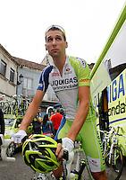 Tziano Dall'Antonia the stage of La Vuelta 2012 between Ponteareas and Sanxenxo.August 28,2012. (ALTERPHOTOS/Acero) /NortePhoto.com<br /> <br /> **CREDITO*OBLIGATORIO** <br /> *No*Venta*A*Terceros*<br /> *No*Sale*So*third*<br /> *** No*Se*Permite*Hacer*Archivo**<br /> *No*Sale*So*third*