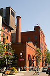 Brewery Blocks street scene, Portland, Oregon