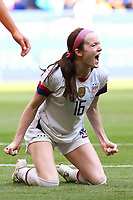 Celebration Rose Lavelle (USA)<br /> Lyon 07/07/2019<br /> Football Womens World Cup Final <br /> United States - Netherlands <br /> Photo  Gwendoline LeGoff / Panoramic/Insidefoto <br /> ITALY ONLY