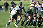 C. Luteru makes a run from a scrum. Counties Manukau Premier Club Rugby, Patumahoe vs Manurewa played at Patumahoe on Saturday 6th May 2006. Patumahoe won 20 - 5.