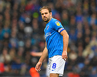 Brett Pitman of Portsmouth during Portsmouth vs Gillingham, Sky Bet EFL League 1 Football at Fratton Park on 6th October 2018