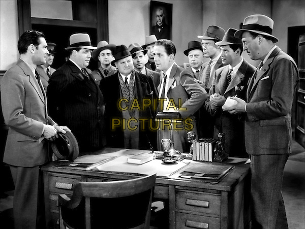 CAST - (L to R) Ed Gargan, Cy Kendall,.Unknown, Humphrey Bogart.in Crime School.*Filmstill - Editorial Use Only*.CAP/PLF.Supplied by Capital Pictures.