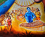 Afro-Colombian Mural