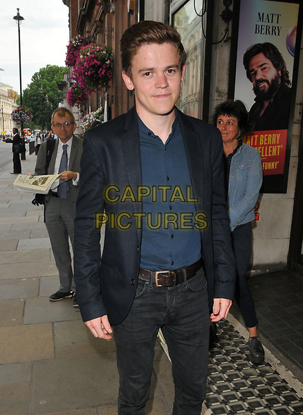 Sam Clemmett at the &quot;Disco Pigs&quot; press night, Trafalgar Studios, Whitehall, London, England, UK, on Tuesday 18 July 2017.<br /> CAP/CAN<br /> &copy;CAN/Capital Pictures