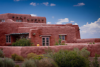The Painted Desert Inn, in the Petrified Forest National Park along Route 66, near Holbrook Arizona.