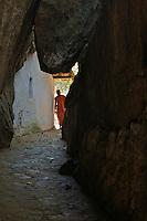 Rock Cave Temple Aluviharaya near Matale Sri Lanka
