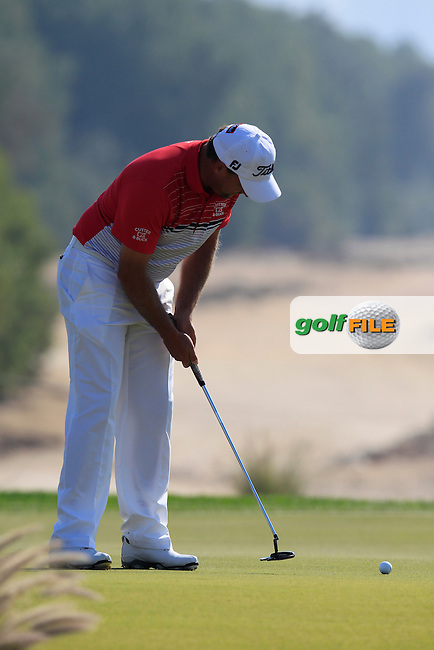 Darren FICHARDT (RSA) putts on the 8th green during Thursday's Round 2 of the 2015 Commercial Bank Qatar Masters held at Doha Golf Club, Doha, Qatar.: Picture Eoin Clarke, www.golffile.ie: 1/22/2015