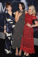 WESTWOOD, CA - OCTOBER 01: Jenny Slate, Mae Whitman attends the Premiere Of Columbia Pictures' 'Venom' at Regency Village Theatre on October 1, 2018 in Westwood, California.<br /> CAP/ROT/TM<br /> ©TM/ROT/Capital Pictures