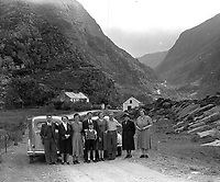 A MacMonagle family photo in The Gap of Dunloe in the 1950's..Picture by Daniel MacMonagle