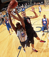 Kaleb Tarczewski at the NBPA Top100 camp at the John Paul Jones Arena Charlottesville, VA. Visit www.nbpatop100.blogspot.com for more photos. (Photo © Andrew Shurtleff)
