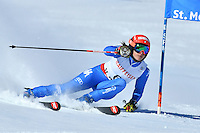 February 16, 2017: Federica BRIGNONE (ITA) competing in the women's giant slalom event at the FIS Alpine World Ski Championships at St Moritz, Switzerland. Photo Sydney Low
