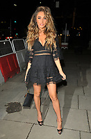 Megan McKenna at the Mark Hill haircare brand launch party, MV Hispaniola, Victoria Embankment, London, England, UK, on Wednesday 07 March 2018.<br /> CAP/CAN<br /> &copy;CAN/Capital Pictures