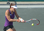 Andrea Petkovic (GER) defeats Lucie Safarova (CZE) 6-3, 1-6, 6-1 at the Family Circle Cup in Charleston, South Carolina on April 4, 2014.