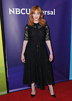 09 January 2018 - Pasadena, California - Christina Hendricks. 2018 NBCUniversal Winter Press Tour held at The Langham Huntington in Pasadena. <br /> CAP/ADM/BT<br /> &copy;BT/ADM/Capital Pictures