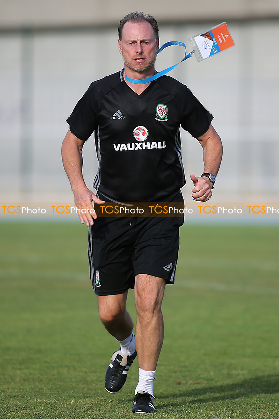 Paul Bodin, Wales U20 full-time Assistant to Rob Page during France Under-20 vs Wales Under-20, Toulon Tournament Football at Stade de Lattre-de-Tassigny on 30th May 2017