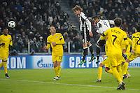 Gol Daniele Rugani Juventus 2-0 Goal celebration <br /> Torino 07-12-2016 Juventus Stadium Football Calcio Champions League 2016/2017 Juventus - Dinamo Zagreb . Foto Filippo Alfero Insidefoto